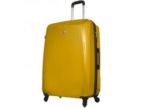 Cestovní kufr MIA TORO M1015/3-M - žlutá  + PowerBanka nebo pouzdro zdarma