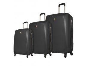Sada cestovních kufrů MIA TORO M1015/3 - černá  + PowerBanka nebo pouzdro zdarma