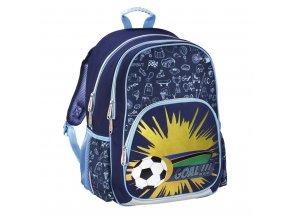 HAMA Školní batoh pro prvňáčky, Fotbal