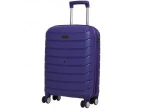 Kabinové zavazadlo ROCK TR-0157/3-S PP - modrá  + PowerBanka nebo pouzdro zdarma
