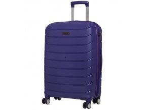 Cestovní kufr ROCK TR-0157/3-M PP - modrá  + PowerBanka nebo pouzdro zdarma