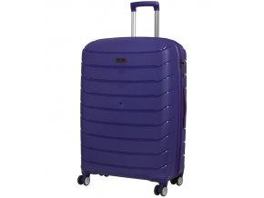 Cestovní kufr ROCK TR-0157/3-L PP - modrá