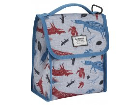 Burton LUNCH SACK BIG BAD WOLF PRINT