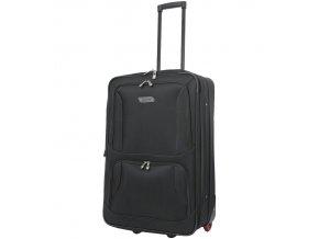 Cestovní kufr CITIES T-604/4-M - černá