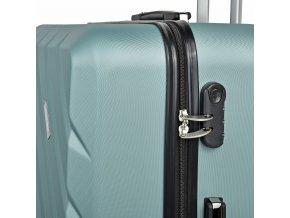 Travelite Quick 4w S,M,L Mint – sada 3 kufrů