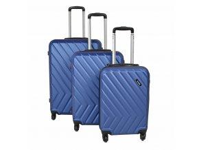Travelite Quick 4w S,M,L Ocean Blue – sada 3 kufrů