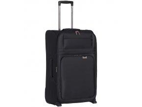 Kabinové zavazadlo AEROLITE T-9515/3-S - černá  + Pouzdro zdarma