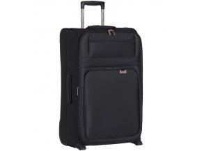 Cestovní kufr AEROLITE T-9515/3-L - černá  + PowerBanka nebo pouzdro zdarma