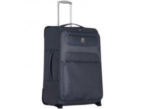 Cestovní kufr ECO-LITE T-1161/3-L - šedá  + PowerBanka nebo pouzdro zdarma
