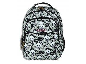 Studentský batoh 2v1 ANNA Panda  + Pouzdro zdarma