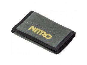 NITRO peněženka WALLET gunmetal