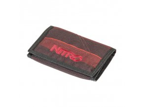 NITRO peněženka WALLET red stripes