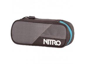 NITRO penál PENCIL CASE blur-blue trims