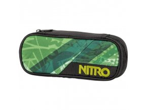 NITRO penál PENCIL CASE wicked green
