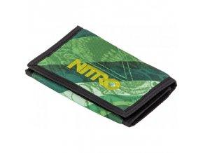 NITRO peněženka WALLET wicked green