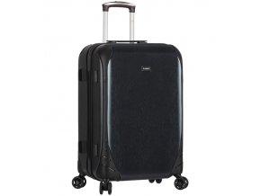 Cestovní kufr SIROCCO T-1159/3-L PC - černá  + PowerBanka nebo pouzdro zdarma