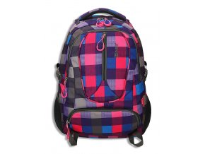 Studentský batoh WIZZARD Bond Pink