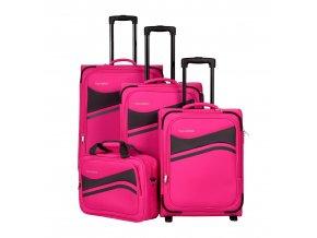 Travelite Wave 2w S, 4w M,L + BB Pink  + PowerBanka nebo pouzdro zdarma