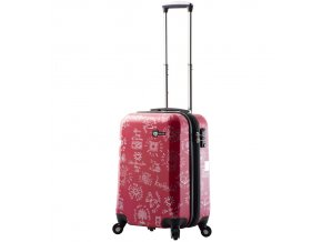 Kabinové zavazadlo MIA TORO M1089/3-S - červená  + PowerBanka nebo pouzdro zdarma