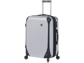 Cestovní kufr MIA TORO M1021/3-L - bílá  + PowerBanka nebo pouzdro zdarma