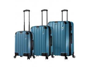 Sada cestovních kufrů MIA TORO M1300/3 - modrá  + PowerBanka nebo pouzdro zdarma