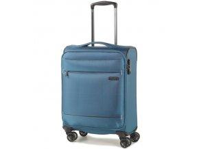 Kabinové zavazadlo ROCK TR-0161/3-S - modrá  + PowerBanka nebo pouzdro zdarma