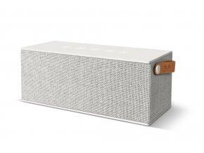 FRESH ´N REBEL Rockbox Brick XL Fabriq Edition Bluetooth reproduktor, Cloud, světle šedý  + PowerBanka nebo pouzdro zdarma