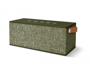 FRESH ´N REBEL Rockbox Brick XL Fabriq Edition Bluetooth reproduktor, Army, vojenská zelená  + PowerBanka nebo pouzdro zdarma
