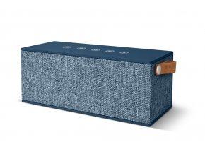 FRESH ´N REBEL Rockbox Brick XL Fabriq Edition Bluetooth reproduktor, Indigo, indigově modrý  + PowerBanka nebo pouzdro zdarma