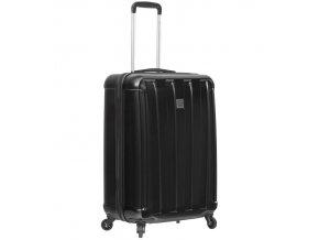 Kabinové zavazadlo SIROCCO T-1162/3-S ABS/PC - černá  + PowerBanka nebo pouzdro zdarma