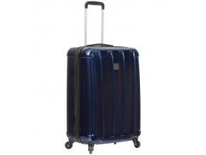 Kabinové zavazadlo SIROCCO T-1162/3-S ABS/PC - modrá  + PowerBanka nebo pouzdro zdarma