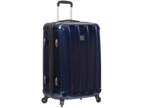 Cestovní kufr SIROCCO T-1162/3-L ABS/PC - modrá  + PowerBanka nebo pouzdro zdarma