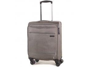 Kabinové zavazadlo ROCK TR-0161/3-S - béžová  + PowerBanka nebo pouzdro zdarma