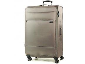 Cestovní kufr ROCK TR-0161/3-L - béžová  + PowerBanka nebo pouzdro zdarma