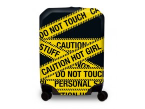 BG Berlin Hug Cover L Caution - Obal na kufr