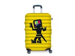 BG Berlin Hug Cover L Cave Man Yellow - Obal na kufr