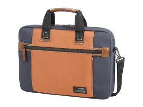 "Samsonite Sideways Laptop Bag 15,6"" Blue/Orange"