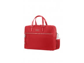 "Samsonite Karissa Biz Bailhandle 15,6"" 2 Comp Formula Red"