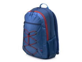 HP 15.6 Active Backpack (Marine Blue/Coral Red)