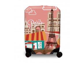 BG Berlin Hug Cover L Paris - Obal na kufr