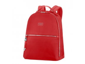"Samsonite Karissa Biz Backpack 14,1"" Formula Red  + PowerBanka nebo pouzdro zdarma"