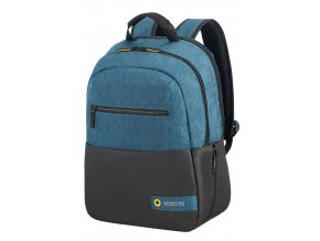 "American Tourister CITY DRIFT 13.3""-14.1"" BLACK/BLUE"