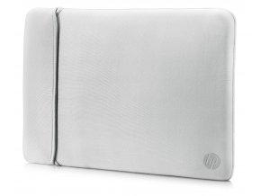 """HP 15.6"""" Reversible Sleeve – Black/Silver"""