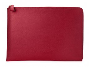 "HP Spectre 13.3"" Split Leather Sleeve - Red"