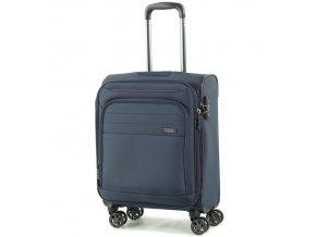 Kabinové zavazadlo ROCK TR-0162/3-S - tmavě modrá  + PowerBanka nebo pouzdro zdarma