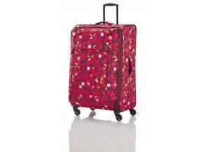 Travelite Campus S,M,L Quadro pink – sada 3 kufrů