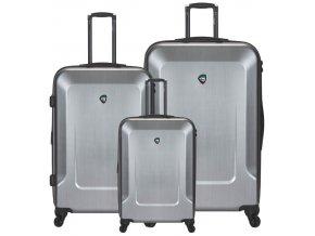 Sada cestovních kufrů MIA TORO M1535/3 - stříbrná  + PowerBanka nebo pouzdro zdarma