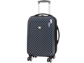 Kabinové zavazadlo MEMBER'S TR-0184/3-S ABS - charcoal  + PowerBanka nebo pouzdro zdarma