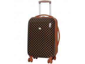 Kabinové zavazadlo MEMBER'S TR-0184/3-S ABS - hnědá  + PowerBanka nebo pouzdro zdarma