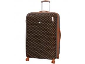 Cestovní kufr MEMBER'S TR-0184/3-XL ABS - hnědá  + PowerBanka nebo pouzdro zdarma